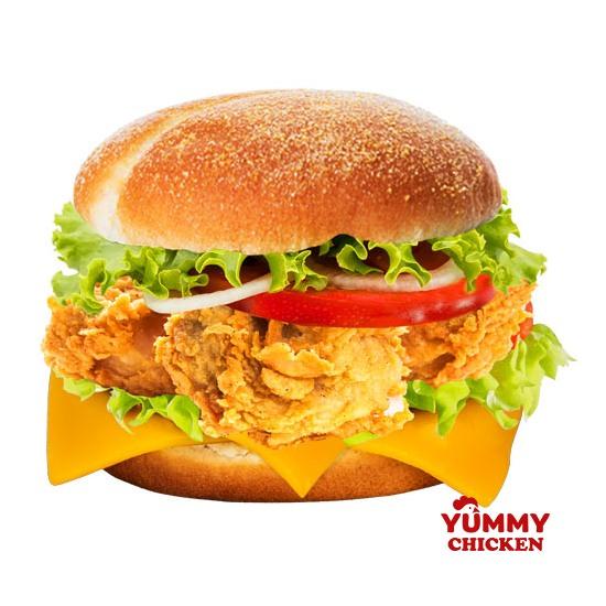 Бонд 007 Бургер - доставка бургеров Yummy