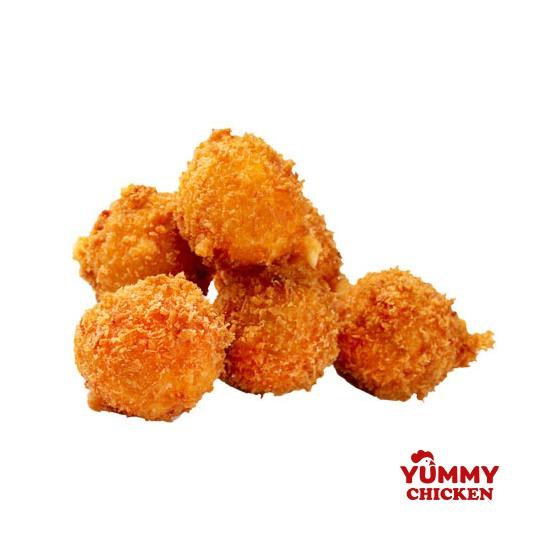 картофельные шарики с беконом - доставка снеков Yummy
